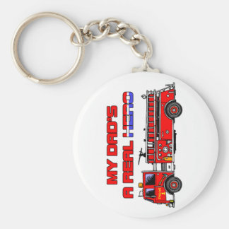 Real Hero Firefighter Key Chain