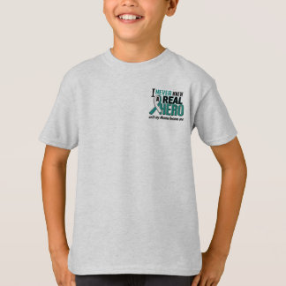 Real Hero Momma Cervical Cancer T Shirt