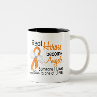 Real Heroes Become Angels Multiple Sclerosis Mug