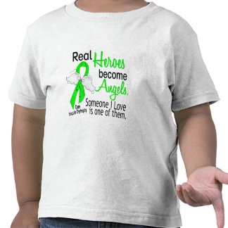 Real Heroes Become Angels Muscular Dystrophy Tshirt