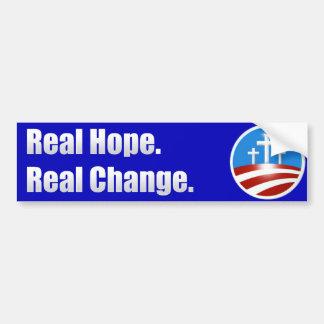 Real Hope Bumper Sticker