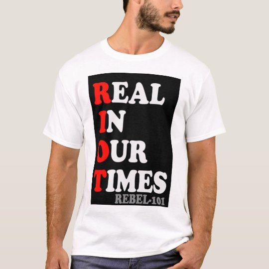 Real In Our Times tee