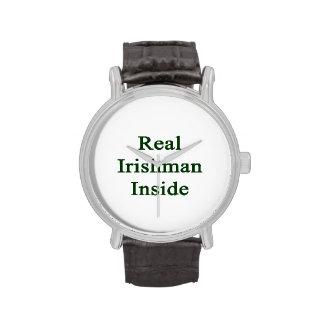 Real Irishman Inside Wristwatches