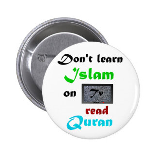Real Islam 6 Cm Round Badge