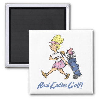 real ladies golf refrigerator magnets