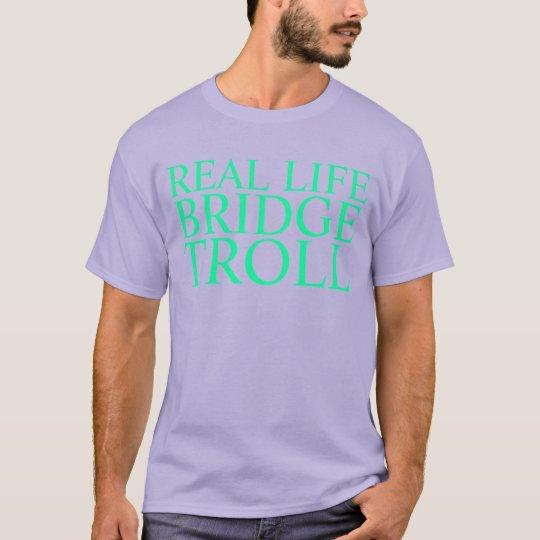 real life bridge troll T-Shirt