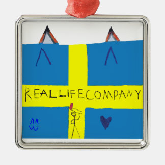 REAL LIFE Company LOGA Julgransprydnad Christmas Ornament