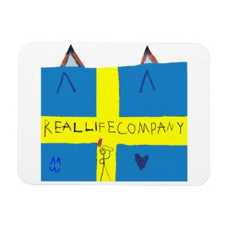 REAL LIFE Company LOGA photo magnet