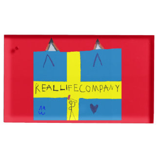 REAL LIFE Company LOGA Table Card Holder