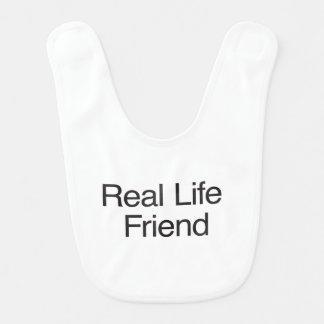 Real Life Friend Bib