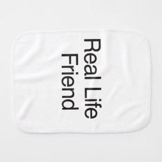 Real Life Friend Burp Cloths
