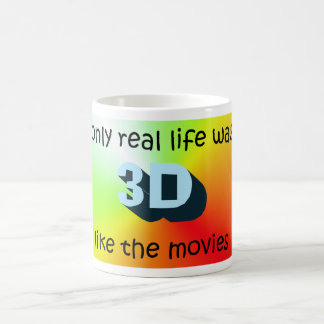 Real life in 3D Coffee Mug