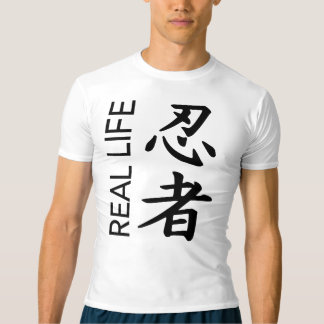 Real Life Ninja Kanji Compression Shirt