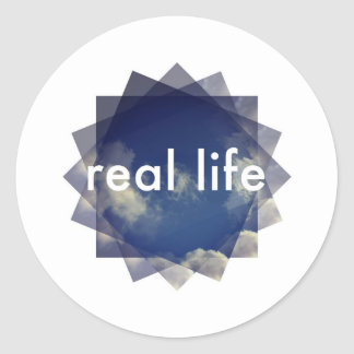 Real Life Objects Classic Round Sticker