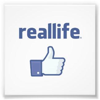 Real Life Photo Print