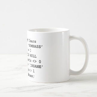 Real Life SQL Coffee Mug