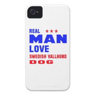 Real man love Swedish Vallhund dog iPhone 4 Cover