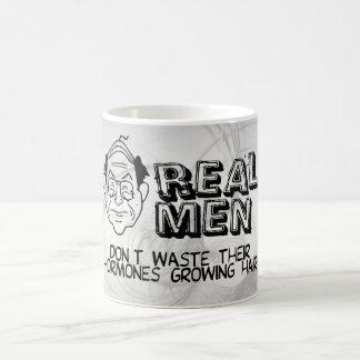 Real Men Basic White Mug