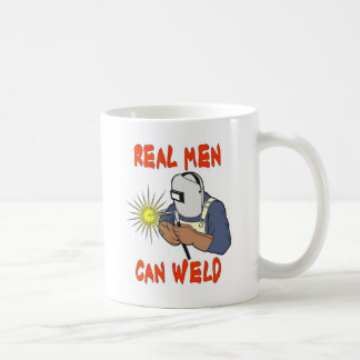 REAL MEN CAN WELD COFFEE MUG