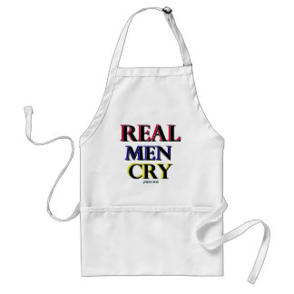 Real Men Cry Aprons