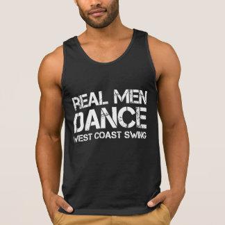 Real Men Dance West Coast Swing Tanks