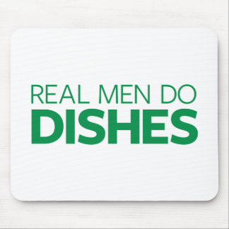 Real Men Do Dishes Mouse Mat