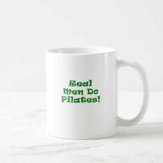 Real Men Do Pilates Coffee Mug