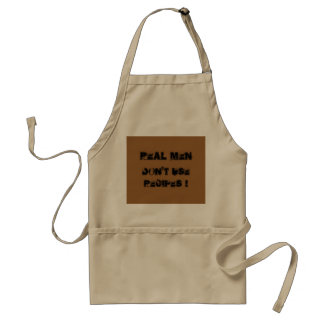 Real men don't use recipes standard apron