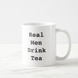 Real Men Drink Tea Mug Funny Mug for Him Men Gift