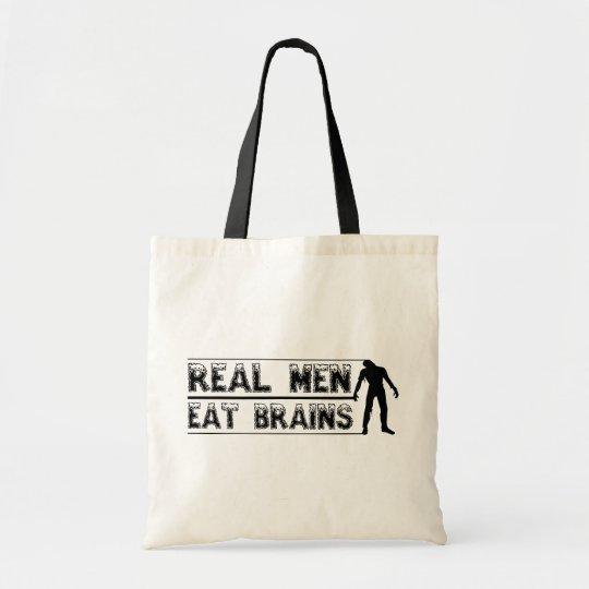 Real Men Eat Brains bag
