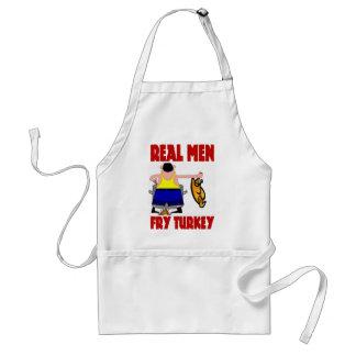 Real Men Fry Turkey Standard Apron