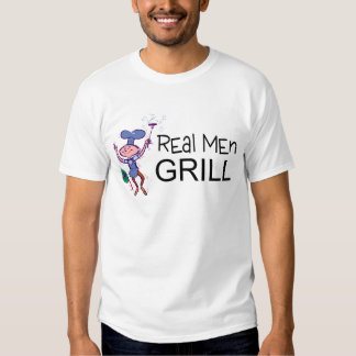 Real Men Grill T-shirt