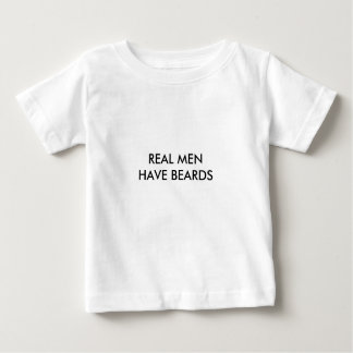 REAL MEN HAVE BEARDS T-SHIRTS