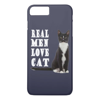 Real men love cat iPhone 8 plus/7 plus case