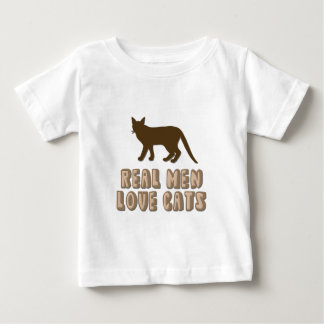 Real Men Love Cats Baby T-Shirt