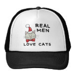 Real Men Love Cats Cap