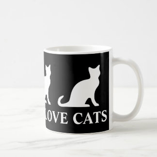 Real men love cats coffee mug