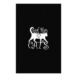 Real Men Love Cats 14 Cm X 21.5 Cm Flyer