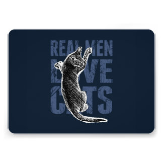 Real Men Love Cats Cards