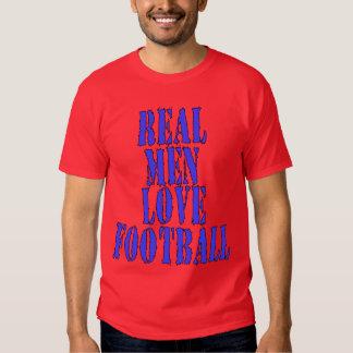 Real Men Love Football T-shirts