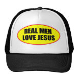 REAL MEN LOVE JESUS CAP