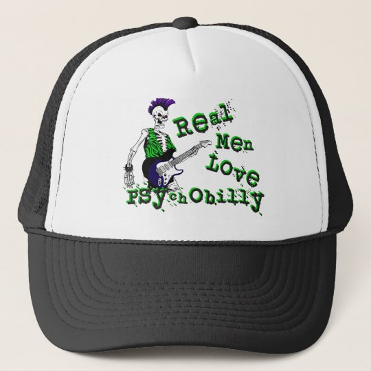 Real Men Love Psychobilly Hat