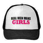 REAL MEN MAKE GIRLS BABY DADDY NEW FATHER CAP