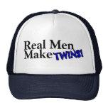 Real Men Make Twins (B) Cap