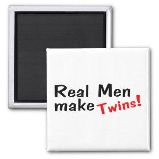 Real Men Make Twins Magnet
