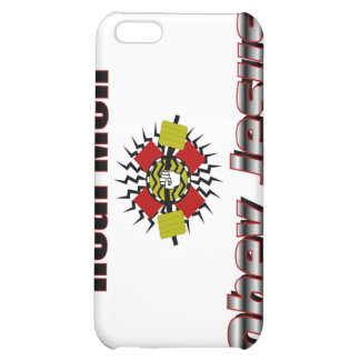 Real men obey Jesus Christian saying iPhone 5C Cases