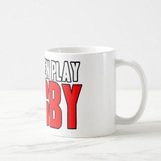 Real Men Play Rugby Coffee Mug