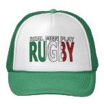 Real Men Play Rugby Italy Cap