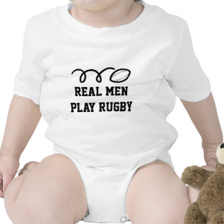Real men play rugby t shirt