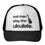 REAL MEN PLAY THE UKULELE HAT